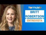Britt Robertson (Girlboss): Charlize Theron siempre me tendió la mano