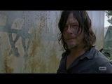 The Walking Dead 7x10 Daryl &amp Richard Fight Over Carol