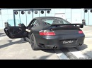 800HP Porsche 996 Turbo by 9ff Anti-Lag Launch Control Sounds!