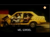 Crash test with and without seatbelts volvo 340
