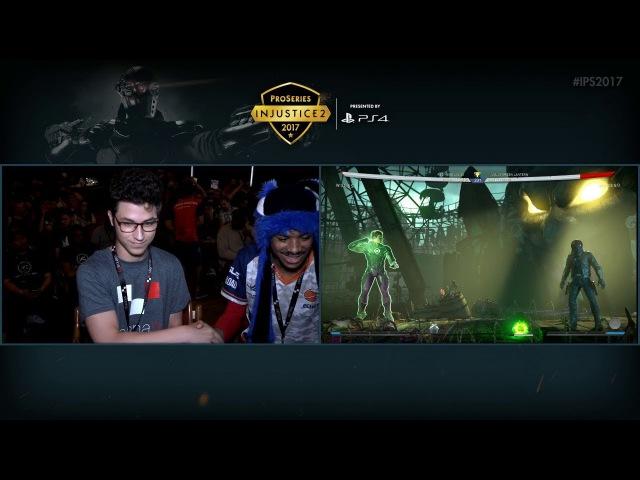 Injustice 2 Pro Series Viennality 2017 SonicFox (Red Hood) VS H-Dope (Green Lantern)