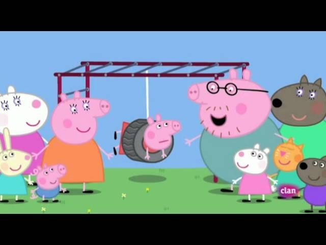 EN LOS COLUMPIOS Peppa Pig Vídeos y juegos Web oficial RTVE es2