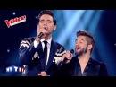 2014 Barbara L'Aigle Noir Kendji Girac Mika The Voice France 2014 Finale