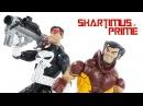 Marvel Legends Wolverine & Punisher Vintage Collection Wave Super Heroes Action Figure Toy Review