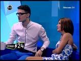 Юля Волкова и Кирилл Кемниц в программе Правда 24 (Москва 24)