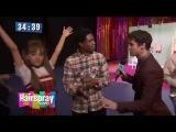 Ariana Grande &amp Darren Criss on set of Hairspray Live!