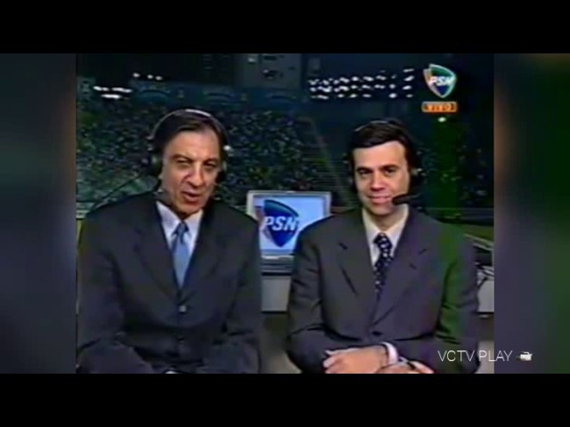 Trecho Inicial: Libertadores PAL - CRU/PSN Brasil (23/05/2001)