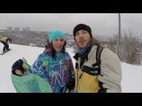 VLOG 005 - Skiing and snowboarding @ Protasiv Yar/ Протасов Яр