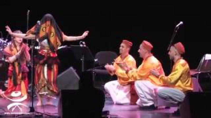 La troupe de danse CIRTA N MONTRÉAL / au gala de Ouazib / musique El Ghidha