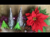 ABC TV | How To Make Christmas Tree Decoration From Aluminum Foil - Craft Tutorial