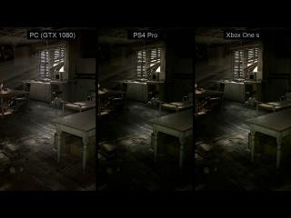 Resident Evil 7 – (4K) PS4 Pro vs Xbox One s vs PC (GTX 1080) Graphics Comparison - Begining Hour
