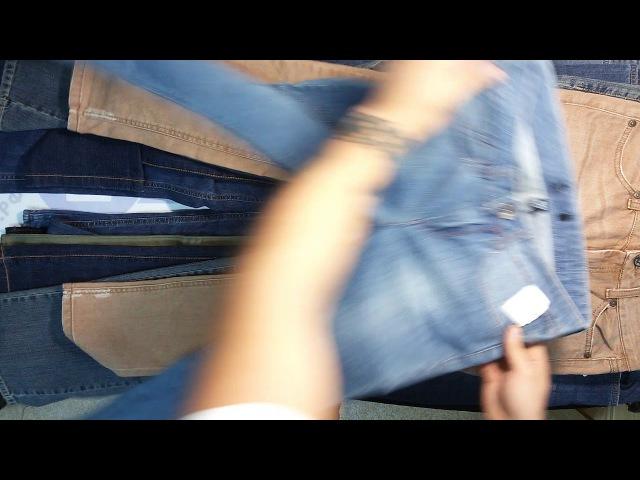 New Jeans (Levis, Fresh Brand, Esprit, Mexx) Womens-Mens - Бренд микс джинсов сток м/ж 1пак