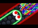Slither.io - LUCKY GIANT SNAKE vs 14500 SNAKES! Epic Slitherio Gameplay (Slitherio Funny Moments)