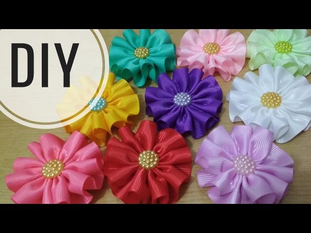 DIY || Cara Membuat Bros Bunga Serut || Ruffle Flower for beginner 🌸