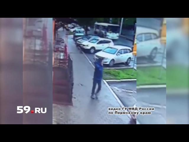 Полиция Перми ищет грабителя