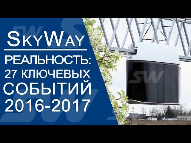 🎥 SkyWay - Реальность! 27 ключевых событий проекта 2016-2017