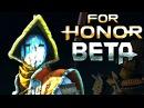 FOR HONOR - NEW NOBUSHI SAMURAI GAMEPLAY! (Closed Beta PS4)