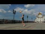Uliana Travkina - Russian rhythmic gymnastics young star. Ульяна Травкина.