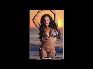 Tehmeena Afzal beautiful body - hot playboy model tehmeena afzal baywatch in aruba beach