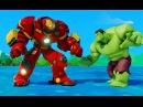 Мультик игра для детей Халкбастер спасает Анну от Халк и Тачки Машинки Дисней Frozen Anna amp Hulkм