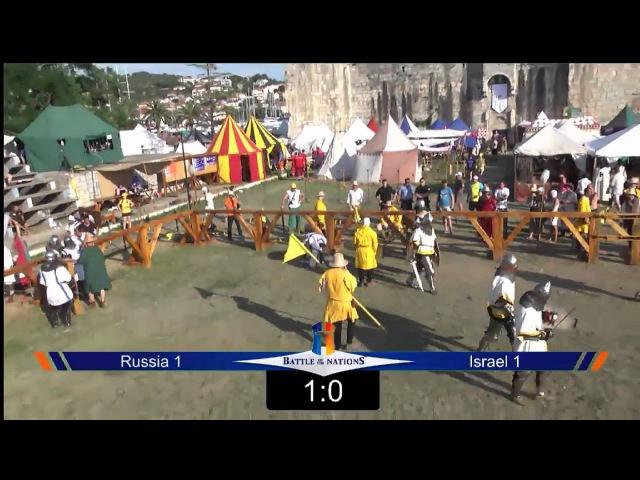 Б.НАЦИЙ 2014 6fight Russia 1 vs Israel 1
