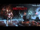 Mortal Kombat X - Erron Black Marksman Brutality Combos