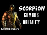 Scorpion - Combos Brutality - Mortal Kombat X