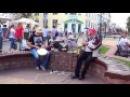 Соло на саксофоне! КЛАСС Тряхнули стариной! Buskers, street, music! 6