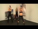 Жиросжигающая, энергичная тренировка Пирамида Джеки Уорнер - тренера знаменитостей. Jackie Warner's Calorie-Blasting Power Pyramid Workout