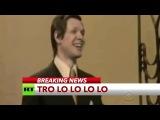 Эфир американского шоу прервался передачей RT с песней  Трололо  Эдуарда Хиля
