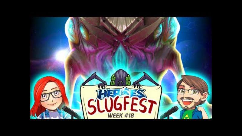 HEROES SLUGFEST | Amateur HOTS Tournament - Week 18 | Heroes of the Storm | Dan Cybert Starbee