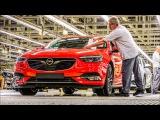 2017 Opel insignia. Процесс сборки Опель Инсигниа.