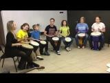 Курс Африканские барабаны Георгия Родионова в школе музыки Guitardo