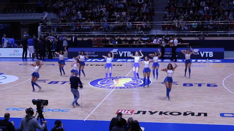 Зенит (Баскетбол) 2017-10-15 Группа поддержки Зенит-Астана 84-73