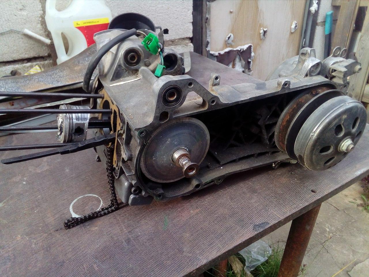 Куплю мотор от скутера 139QMB