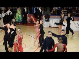 Чемпионат РТС по 10 танцам.29 апреля 2017 год.Сыров-Ефимова.самба
