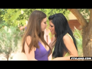 Lesbians in public _ adriana chechik and natalie moore