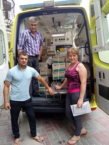 БО Український фонд благодійництва по меморандуму про співпрацю з БФ Здорова нація привезли ліків на 370000грн на м. Житомир