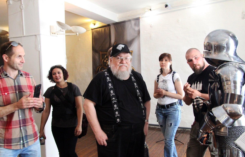 Создатель 'Игры престолов' Джордж Мартин приедет в Петербург