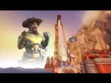 J. McCree - High Enough ft. Angela Ziegler [Overwatch SFM] (VHS Video)