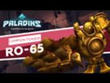 Paladins - Champion Teaser - RO-56, The metal-man