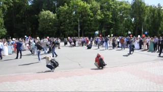 Запуск голубей на площади Ленина #Смоленск