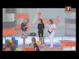 Сюжет на белорусском ТВ об эффективности восстановления после родов с помощью ЭМС-тренировок