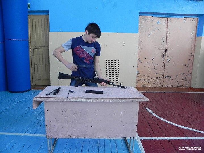В Зеленчукской  прошли районные соревнования по многоборью ГТО