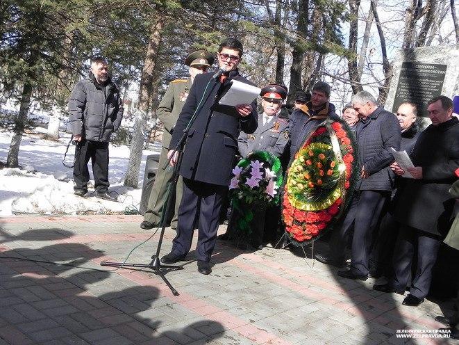 В Зеленчукской состоялся митинг посвященный 28-й годовщине вывода советских войск из Афганистана