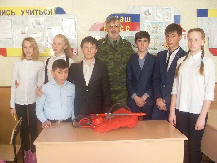 Школьникам Зеленчукского района рассказали о правилах пожарной безопасности в лесах