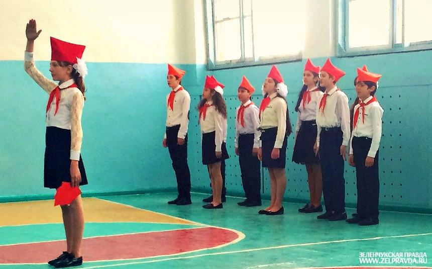 В Даусузе прошел конкурс «Строя и песни»