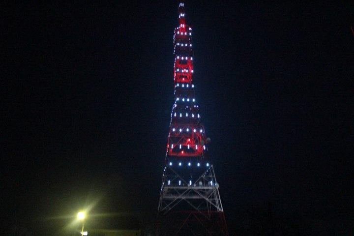 В Черкесске появилась новая телерадиовещательная башня