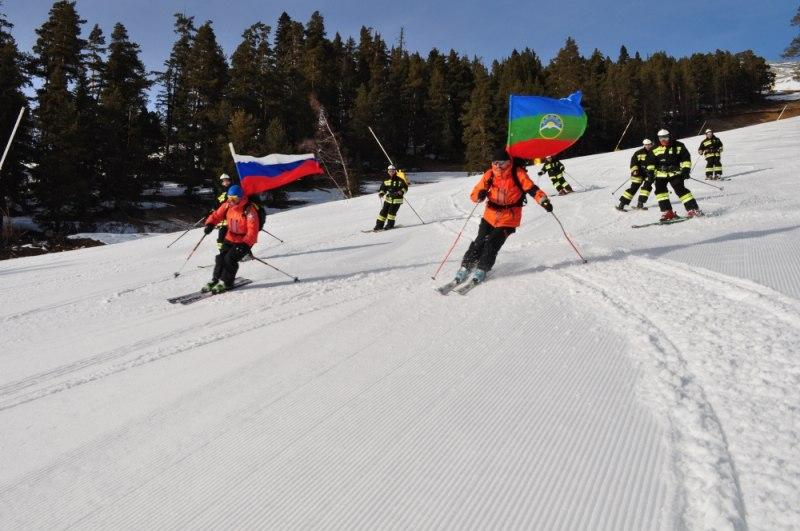 В Зеленчукском районе прошла акция «МЧС России – за здоровый образ жизни!»
