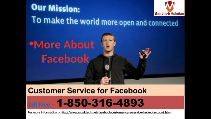 One Stop solution of any issues: Facebook Customer Service 1-850-316-4893